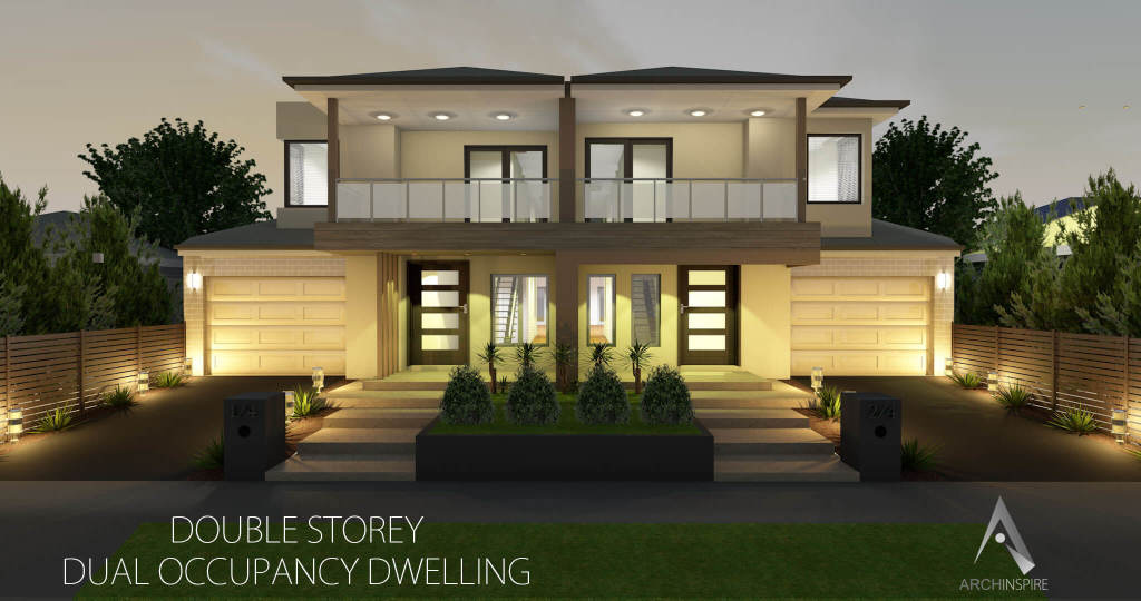 Dual occupancy for Dual living house plans