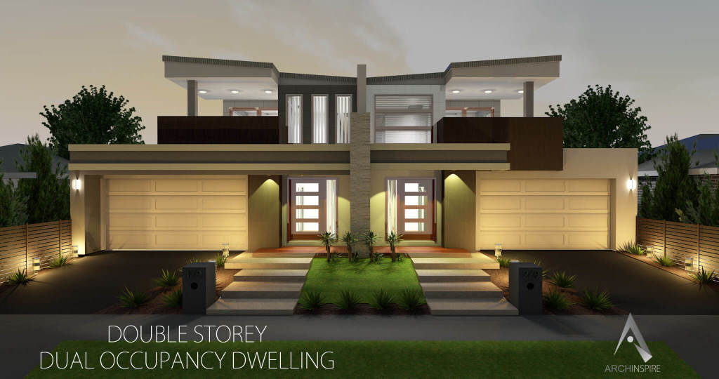 Dual occupancy for Side by side plans