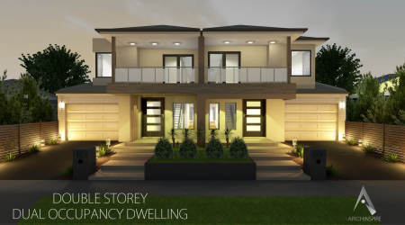 Dual Occupancy- Modern House Plans & Designs