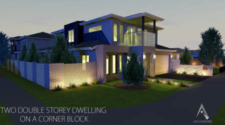 Two Storey Dwelling. Perfect Subdivision Of Land The Process And ...